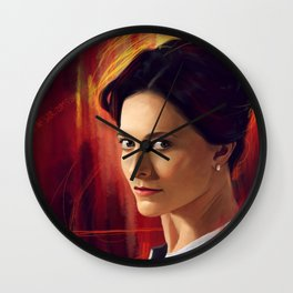 Irene Adler - II Wall Clock