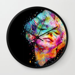 Marilyn portrait Wall Clock