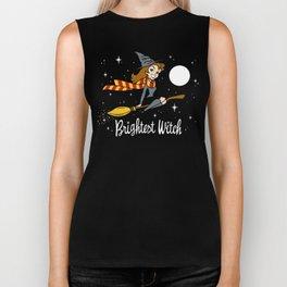 Brightest Witch Biker Tank