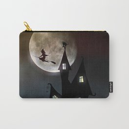Halloween Scene Carry-All Pouch