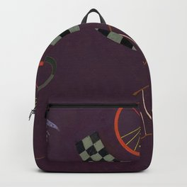 Wassily Kandinsky - Ribbon with Squares Backpack