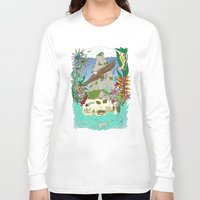 thailand Long Sleeve T-shirts featuring Thailand by Matt Johnstone