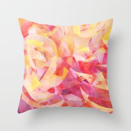 Concentric (Rise Remix) Throw Pillow