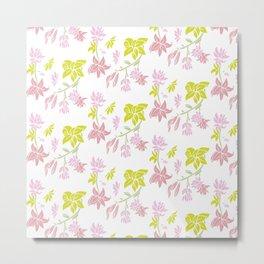 Tuberose floral Metal Print