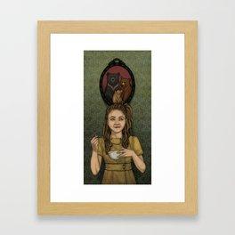 Just Right Framed Art Print