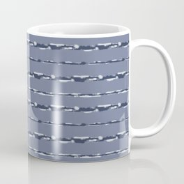 Denim Cloud Stripe 2 Coffee Mug
