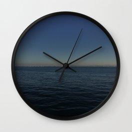 Distant Shore Wall Clock