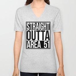 Straight Outta Area 51 Unisex V-Neck