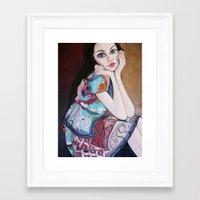 daria Framed Art Prints featuring Daria by MartaMendes