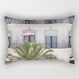 Life in Pink Rectangular Pillow