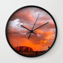 Uluru's Finest Wall Clock