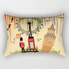 Rainbow Cities ~ London Rectangular Pillow
