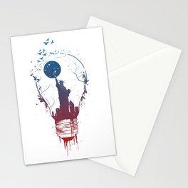 Big city lights II Stationery Cards