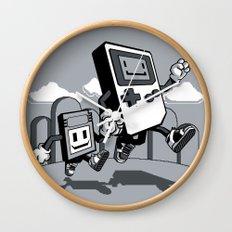 Handheld Mono Wall Clock