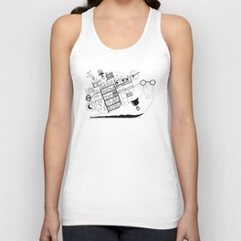 A snail's home Unisex Tank Top