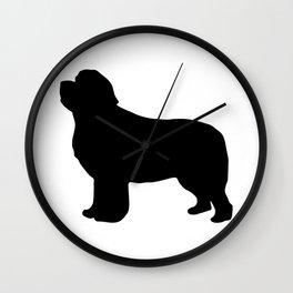 Newf Wall Clock