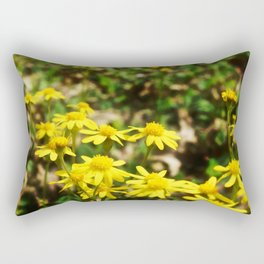 Squaw Weed 3 Rectangular Pillow