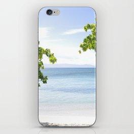 Alone on the beach iPhone Skin