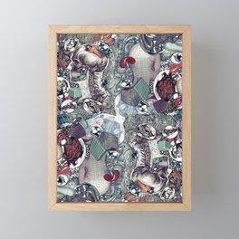 mind science Framed Mini Art Print
