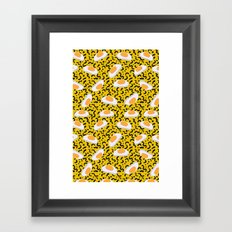 Candy Obsession - Gummy Fried Eggs Framed Art Print