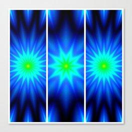 Power of Three Stars Canvas Print