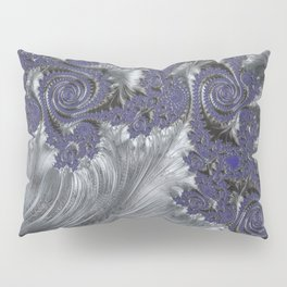 Silver Filigree Pillow Sham