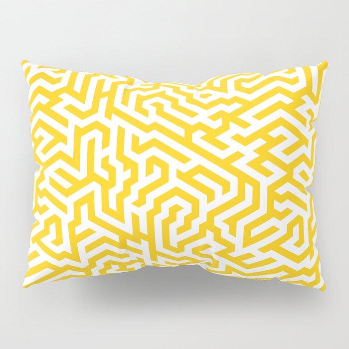 Maize Maze Pillow Sham