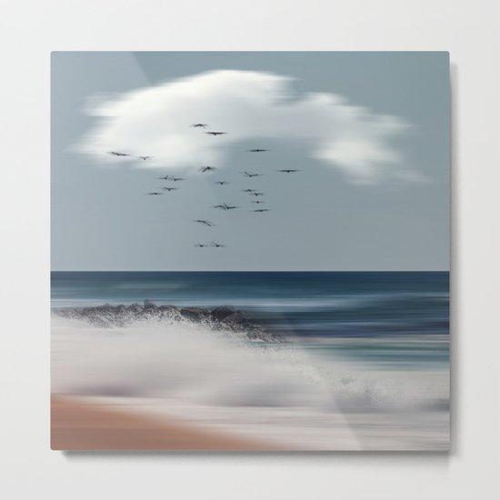 Atlantic Water Metal Print
