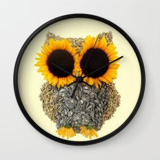 Hoot! Day Owl! Wall Clock