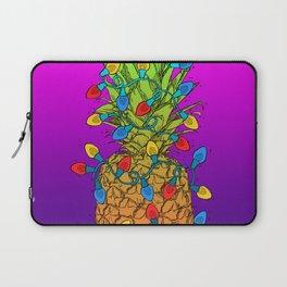 Pineapple Christmas Lights Laptop Sleeve