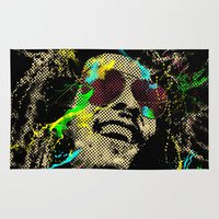 reggae Area & Throw Rugs featuring Under the reggae mode by alfboc