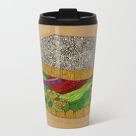 Sanduchito Metal Travel Mug
