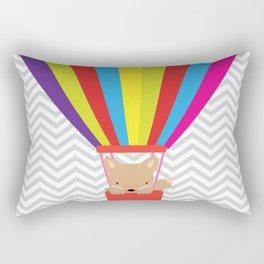 hot air balloon , Rectangular Pillow
