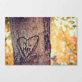 Our Love Grows Canvas Print