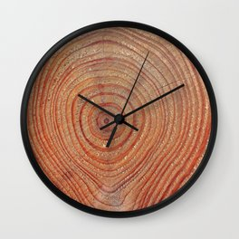 Wooden Rings Wall Clock