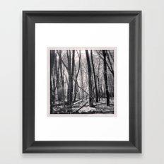 North 2 Framed Art Print