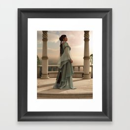 A Moment of Peace Framed Art Print