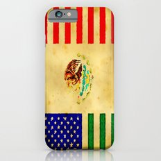 MEXICAN AMERICAN FLAG - 017 iPhone 6s Slim Case