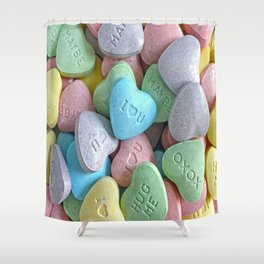 Hearts for your Sweetheart Shower Curtain