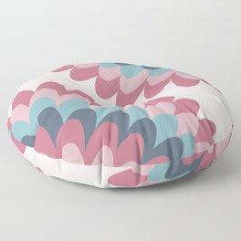 Dahlia at Bedroom Floor Pillow