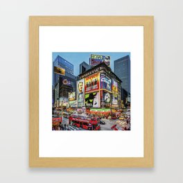 Times Square III Special Edition I Framed Art Print