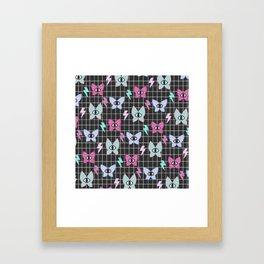 ButterEye - Black Framed Art Print