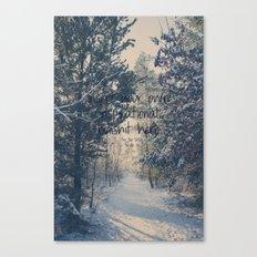 Inspirational bullshit Canvas Print