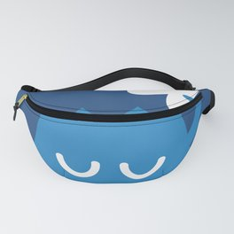 A Friendly Mountain Greeting Fanny Pack