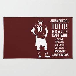 Arrivederci Totti Rug
