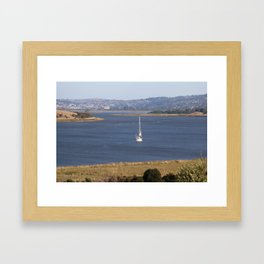 In too Port Launceston - Tasmania - Aus Framed Art Print