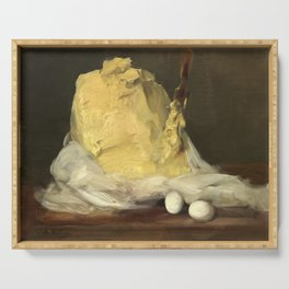 Mound of Butter by Antoine Vollon, 1875 Serving Tray