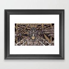 Raw Data (Still Frame 3) Framed Art Print