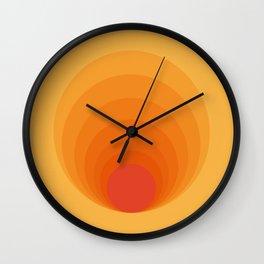 Sun Spiral   Bauhaus I Wall Clock