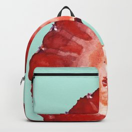 Strawberry on Mint Backpack